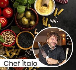 Gastronomia com Chef Ítalo Rosa
